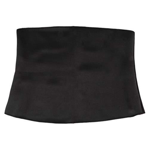 Women Neoprene Healthy Slimming Weight Loss Waist Belt Body Shaper Corsets red & Black XXXL