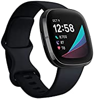 Fitbit Sense, Advanced Smartwatch with Tools for Heart Health, Stress Management & Skin Temperature Trends