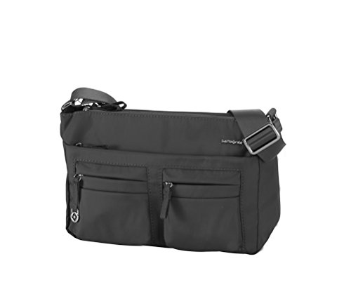 Samsonite Move 2.0 Horizon Shoulder Bag Plus Flap, Umhängetasche, 3.944 L, Black