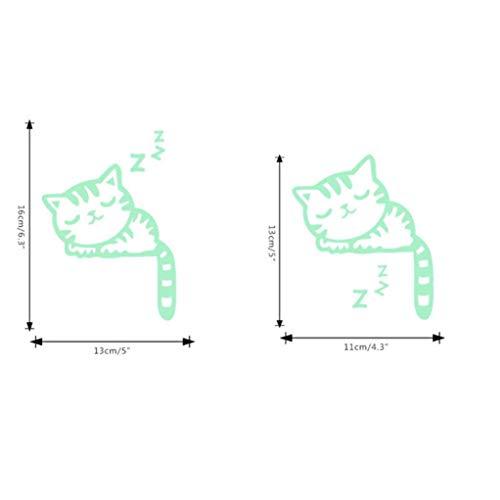 serliy Nettes Kreatives Kätzchen wandaufkleber wandtattoo wandsticker Baum Selbstklebende Fliese Aufkleber Küche Badezimmer Persönlichkeit kinderzimmer Dekorative wandsprüche Wandgemälde