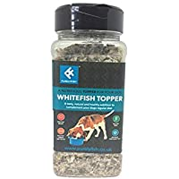Purely Fish Whitefish Topper for Dogs 200g Gripper Jar