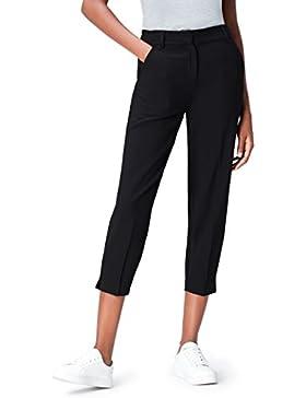 FIND Pantalón Ancho por Encima del Tobillo para Mujer