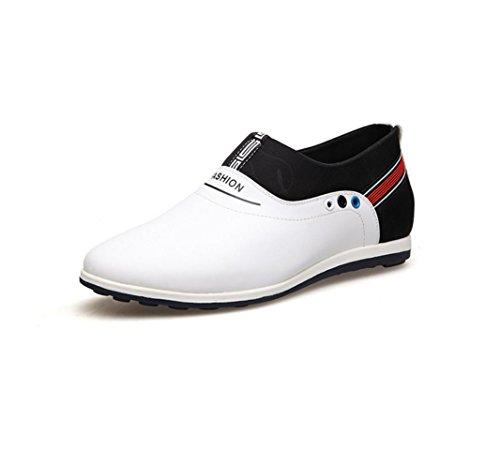 Novo Verão Respirável No Âmbito Do Aumento Homens Sapatos Versão Coreana Branco Confortável E Casual