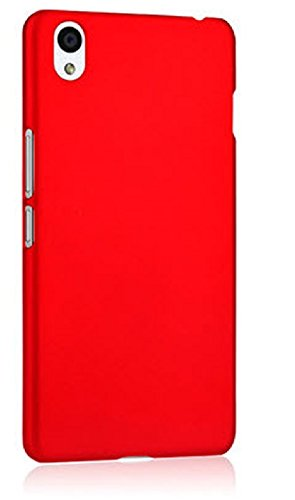WOW Imagine™ Rubberised Matte Hard Case Back Cover For OPPO A37 - Maroon Wine Red  available at amazon for Rs.165