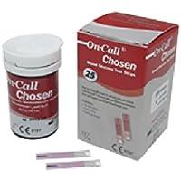 Preisvergleich für On Call Chosen Blutzucker Teststreifen (50 Stück)