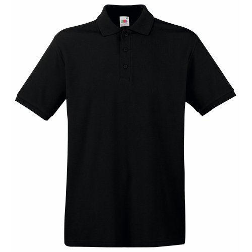 Fruit of the Loom Premium Polo - Farbe: Black - Größe: L -