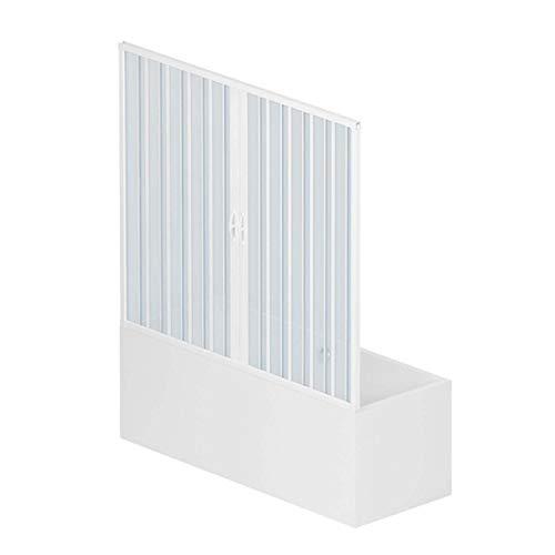 RL Puerta Mampara bañera 170 CM PVC Mod. Nina Apertura