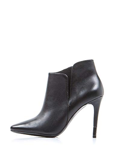 Guess Frauen hoch Oben Schuhe High Heels Damen Stiefeletten Schwarz Naturleder 38 EU Größe Guess High Heel Heels