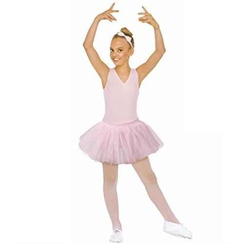 Kinder Ballerina Tütü Rock Ballett Petticoat rosa Tänzerin Tutu Balletttänzerin Tüllrock Schwanensee Unterrock Ballettröckchen Kostüm (Ballett Tänzerin Kostüm)