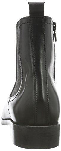 Buffalo London 30855 Sauvage, Stivali bassi con imbottitura leggera Donna Nero (Nero (PRETO 01))