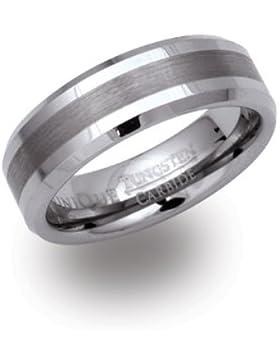 Unique Men Herren-Ring Wolframcarbid TUR-17-66-p