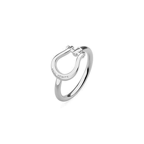 PAUL HEWITT Damen Edelstahl Ring Shackle - Damenring Edelstahl, Ring für Damen in Silber in Schäkel-Form