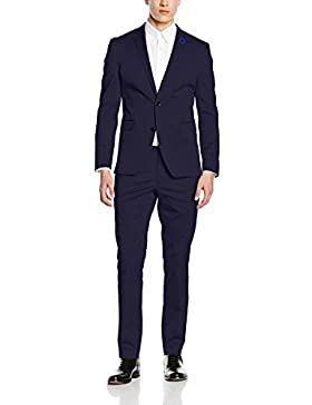 ESPRIT Collection Herren Anzug 036eo2m001 - mit Stretch