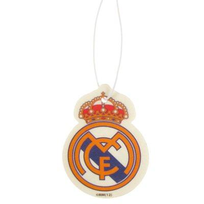 Real Madrid FC Football Club In Car Hanging Cardboard 2D Air Freshener Official -