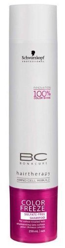 Schwarzkopf BC Color Freeze Sulfatfr. Shampoo 250ml -