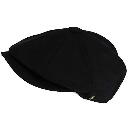Epoch Hats Company Men s Melton Wool 8 Quarter Newsboy Cap a13937a4c3f9