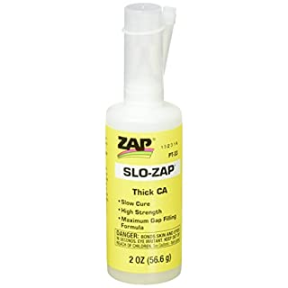 Pacer Technology (Zap) Slo-Zap (Thick) Adhesives, 2 oz
