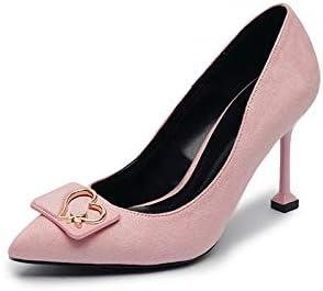 KOKQSX-solo scarpe tacco alto 7cm superficiale bocca camoscio puntata puntata puntata dritta. trentaquattro rosa B07HDYD3X2 Parent | Di Qualità Superiore  | Negozio online di vendita  bd8b6a