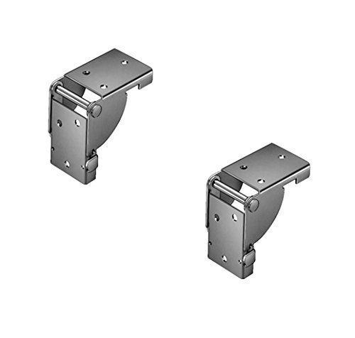 GedoTec® Ferrures pliantes pour pieds de table et bancs,1 paire, en acier zingué,pour pieds de table 38x 38mm,produit de qualité pour votre intérieur