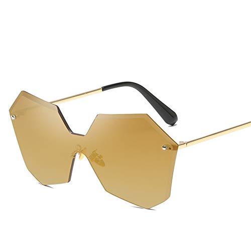 Wenkang Women Frameless Sunglasses Sun Glasses Multilateral Designer Man Sunglasses Women Fashion Glasses Uv400,4