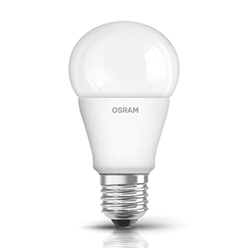 Osram LED Star Classic A Lampe, in Kolbenform mit E27-Sockel, nicht dimmbar, Ersetzt 75 Watt, Matt, Warmweiß - 2700 Kelvin, 1er-Pack -