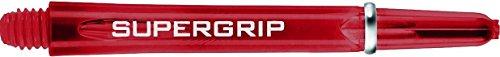 5 Sets of HARROWS SUPERGRIP rot MEDIUM DART Sch_fte SHAFTS
