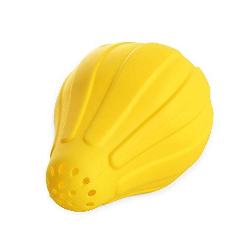 Rrunzfon 8 * 11cm de Mano juicer limón Jugo de Silicona Amarillo 1 Paquete