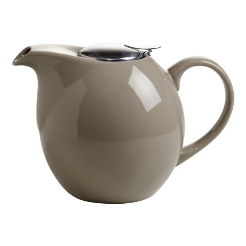 Maxwell & Williams IT10115 InfusionsT Théière en porcelaine avec filtre Taupe 1,5 l