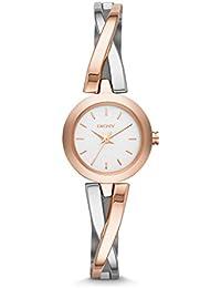 DKNY  NY2172 - Reloj de cuarzo con correa de acero inoxidable para mujer , multicolor