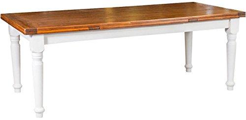 Tavolo country allungabile in legno massello di tiglio for Tavolo allungabile in legno massello offerta