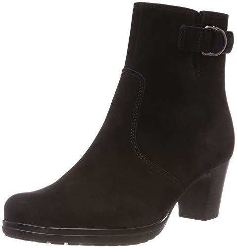 Gabor Shoes Damen Comfort Basic Stiefeletten, Schwarz (Micro) 47, 40 EU -