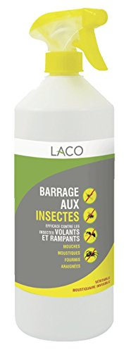 Insecticide en Spray, Anti-Insectes - Barrage aux Insectes - 1L
