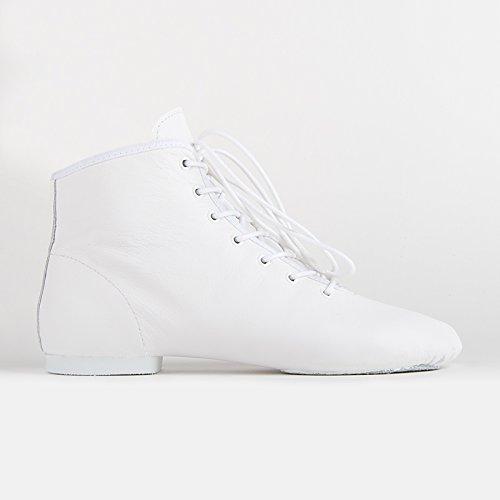 Rumpf 4126 Gardestiefel niedrig Leder geteilte Chromledersohle Stiefel Weiß