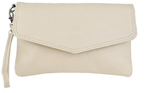 Bags4Less Damen Cameron Clutch, 3x13x21 cm Beige (Beige)