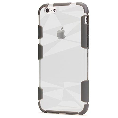 ORIGINAL Urcover® HARD Crystal SERIES Schutzhülle für das Apple Apple iPhone 7 Plus / 8 Plus Handyhülle Etui [DEUTSCHER FACHHANDEL] Champagner Gold Grau