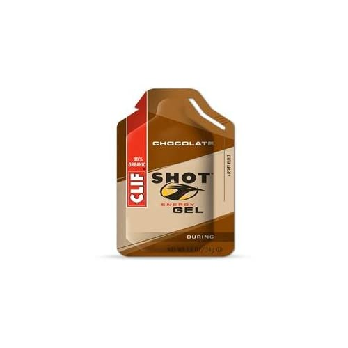 31YrD0mkexL. SS500  - Clif Bar Shot Gel Chocolate 34g x 24