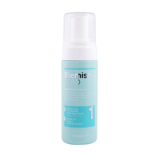 The Face Shop Clean Face Blemish ZERO Bubble Foam Cleanser 150ml