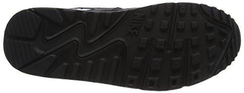 Nike Wmns Air Max 90 Prem, Entraînement de Course Femme Noir (Black/white 047)