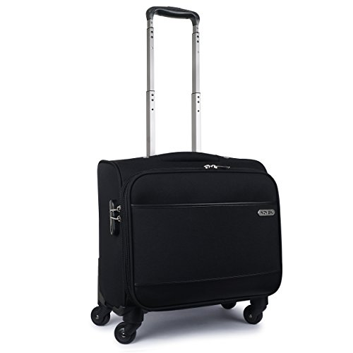 Novex overnighter Black Laptop trolley bag