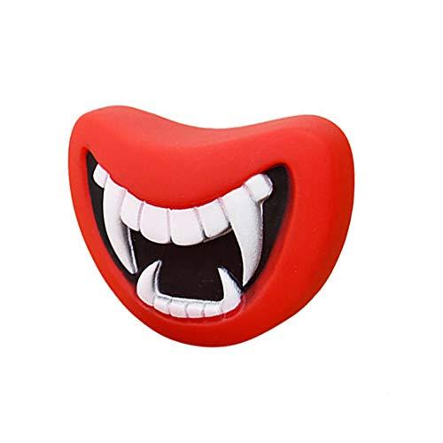 Roblue Schwein Zahn Hunde Halloween Kaun Spielzeug für Haustier Hund Molaren Beißen Spielzeug (Halloween Knochen Uk)