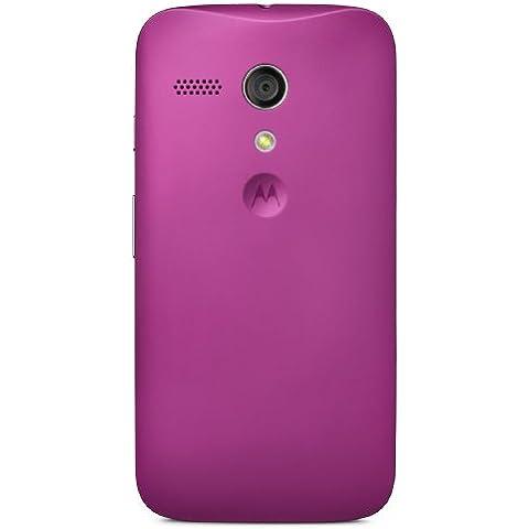 Motorola Clip-On Shell - Carcasa trasera para móvil Motorola Moto G, morado