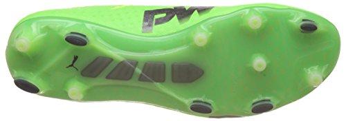 Puma Evopower Vigor 1 Fg, Scarpe da Calcio Uomo Verde (Green Gecko-puma Black-safety Yellow 01)