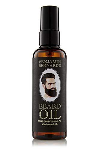 Bartöl Conditioner für Männer zur Bartpflege - Beard Oil von Benjamin Bernard - Gesundes Bartwachstum und gepflegter Bartstil wird gefördert - 100 ml parfümiert