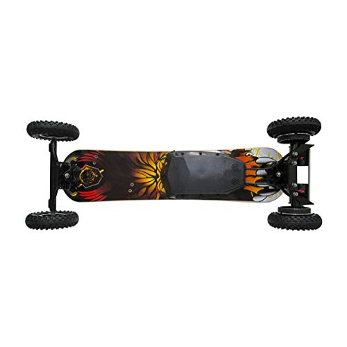 H2C-01 Dual-Motorroller Mini Electric Skateboard mit Luftreifen Off-Road-High-Speed-Skate-Brett Batteriebetriebene