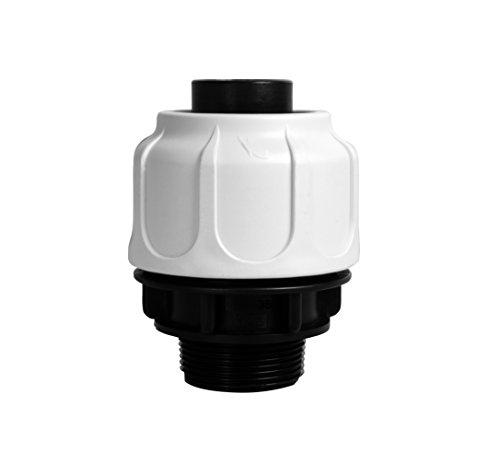 """T.I.P. 30967 Schlauchanschluss Klemmverschraubung 1 ½\"""" AG 38 mm für Schwimmbad, Pool und Sandfilteranlagen"""