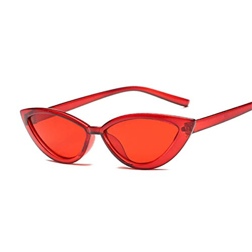 Klassische Sportsonnenbrille, Ladies Sunglasses Women Luxury Plastic Female Classic Retro Cat Eye Outdoor