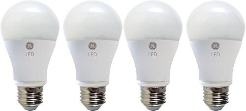 GE LIGHTING 67616dimmbar LED Glühbirne A19mit mittlerer Boden, 10Watt, tageslicht, 4er Pack -