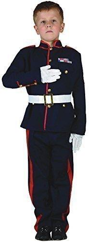 Militär Zubehör Kostüm Armee - Fancy Me Kinder Jungen Armee-Offizier Militär Soldat Streitkräfte Kostüm Kleid Outfit 4-14 Jahre - 10-12 Years