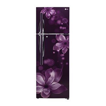 LG 260 L 3 Star Frost-Free Double Door Refrigerator (GL-T292RPOY, Purple Orchid)