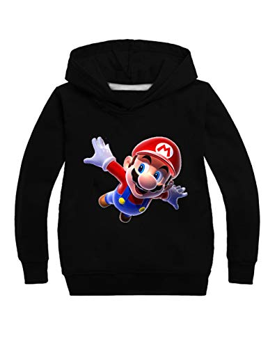 Super Mario Hoodie - Super Mario Pullover Kinder,Mario & Sonic